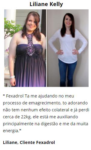 fexadrol antes e depois