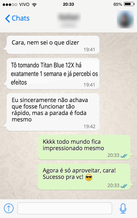 titan blue 12x depoimento 1