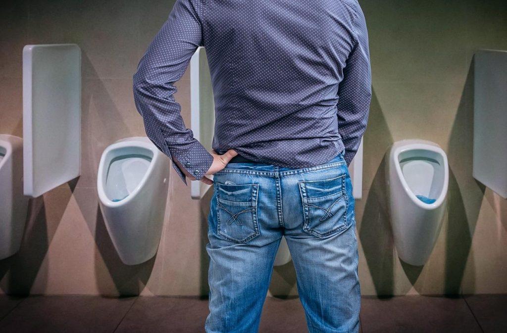 dificuldade pra urinar